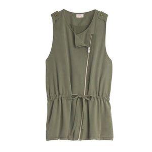 NWT! Stitch Fix Pixley Ambay Vest in Green